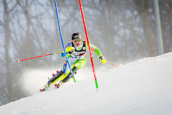 """Marusa Ferk (SLO) during FIS Alpine Ski World Cup 2016/17 Ladies Slalom race named """"Snow Queen Trophy 2017"""", on January 3, 2017 in Course Crveni Spust at Sljeme hill, Zagreb, Croatia. Photo by Žiga Zupan / Sportida"""