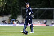 Hats off to Scotland for a 317 batting total during the One Day International match between Scotland and Zimbabwe at Grange Cricket Club, Edinburgh, Scotland on 15 June 2017. Photo by Kevin Murray.
