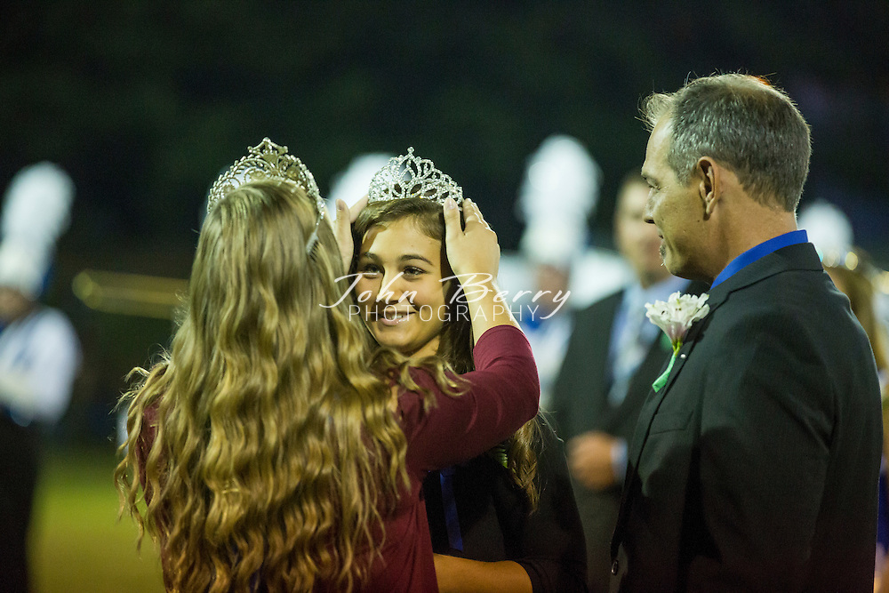 Madison varsity football defeated Warren County this evening 26-20 in overtime, on a Chris Smith quarterback keeper TD in overtime.  At half time, MCHS Senior Grace Fox was crowned Homecoming Queen. (photos from the game will be online some time Saturday evening.)
