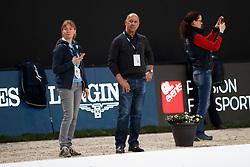 HILBERATH Jonny (Co Bundestrainer Dressur GER)<br /> Paris - FEI World Cup Finals 2018<br /> Dressurtraining<br /> www.sportfotos-lafrentz.de/Stefan Lafrentz<br /> 12.04.18
