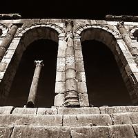 Where: Near Fez, Morocco.<br /> Old Roman ruins.