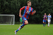 Patrick Bamford on the move during the U21 Professional Development League match between U21 QPR and U21 Crystal Palace at the Loftus Road Stadium, London, England on 31 August 2015. Photo by Michael Hulf.