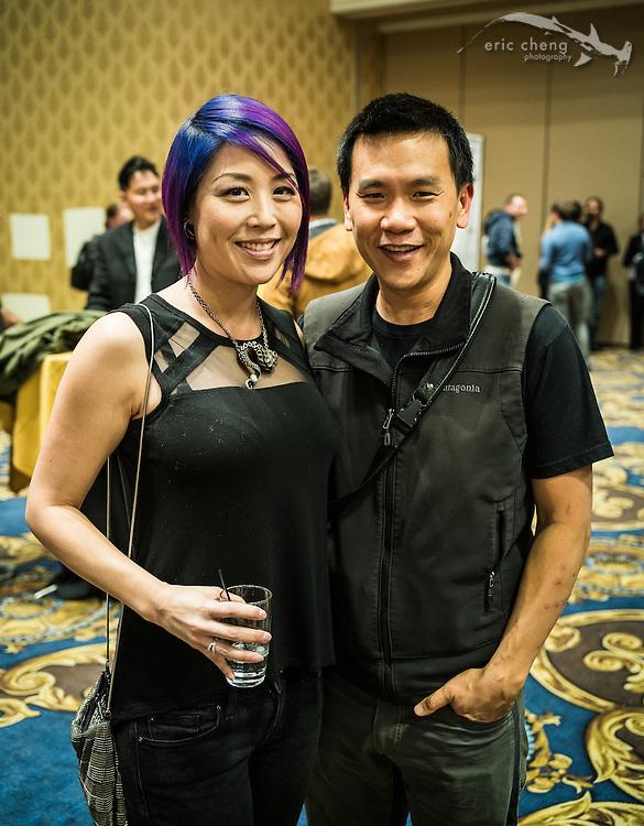 Eric Cheng and Carolyn Wang (DEMA 2016, Las Vegas)