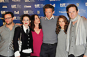 14.SEPT.2010. TORONTO<br /> <br /> THE CAST OF THE BLACK SWAN ATTEND THE PRESS CONFRENCE FOR THE NEW FILM AT THE 35TH TORONTO FILM FESTIVAL IN TORONTO.<br /> <br /> BYLINE: EDBIMAGEARCHIVE.COM<br /> <br /> *THIS IMAGE IS STRICTLY FOR UK NEWSPAPERS AND MAGAZINES ONLY*<br /> *FOR WORLD WIDE SALES AND WEB USE PLEASE CONTACT EDBIMAGEARCHIVE - 0208 954 5968*