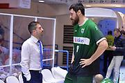 Esposito Marco, Zerini Andrea<br /> Enel Brindisi - Sidigas Avellino<br /> BASKET Serie A 2016 <br /> Brindisi 26/03/2017<br /> FOTO CIAMILLO / M.Longo