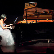 November 4, 2012 - New York, NY : The pianist Jenny Q Chai performs at (Le) Poisson Rouge in Manhattan on Sunday evening. CREDIT: Karsten Moran for The New York Times