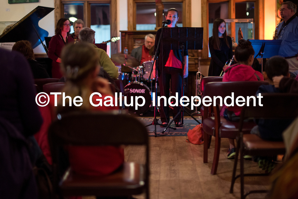 121914       Cable Hoover<br /> <br /> Gallup-based band On Call Jazz plays a benefit concert at the Gallup Cultural Center Friday. Proceed from the concert benefited the Jim Harlin Community Pantry and the Thai Burma Border Health Initiative.