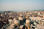 Overview of Venice, Italy.