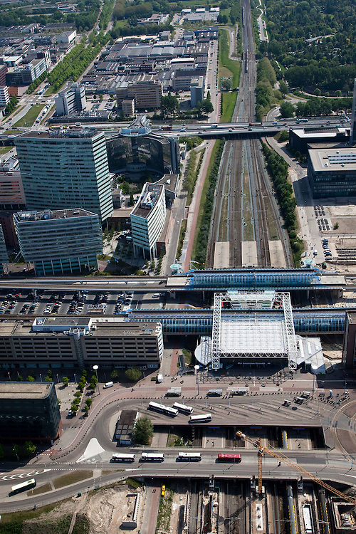Nederland, Noord-Holland, Amsterdam, 25-05-2010..YYY.luchtfoto (toeslag), aerial photo (additional fee required).foto/photo Siebe Swart