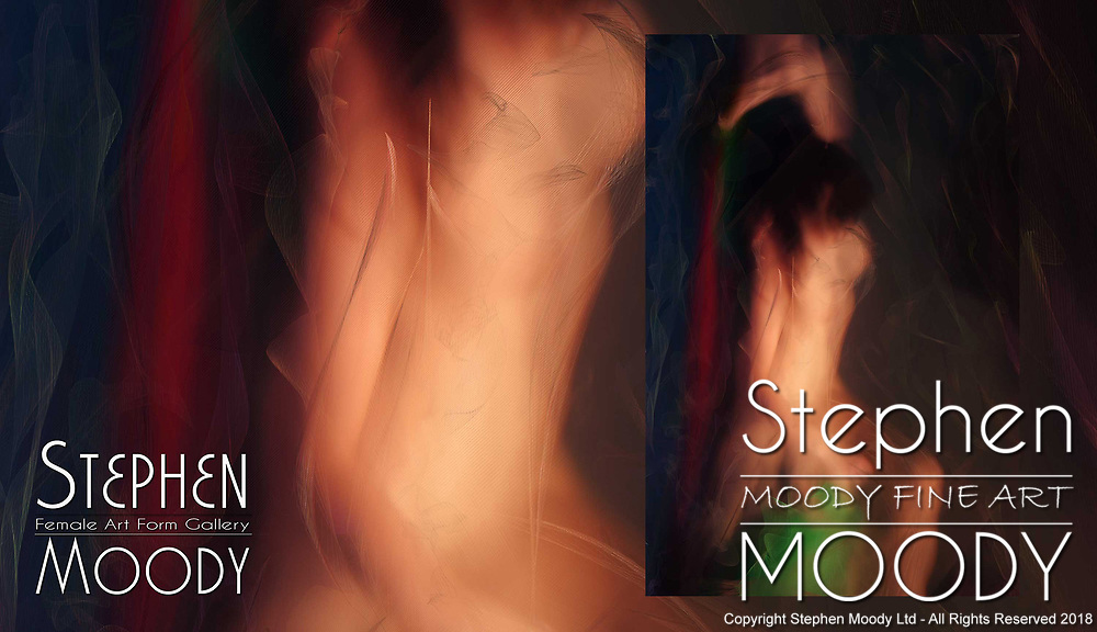 Apres la Bain - After the Bath | Abstract Art of the Female Form created by artist Stephen Moody of Scottsdale, AZ.  Large wall art for businesses, hospitality industry, interior designers and individual collectors.