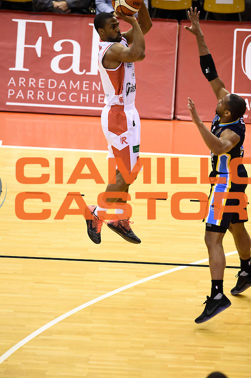 Derek Needham<br /> Grissin Bon Reggio Emilia - Vanoli Cremona<br /> Lega Basket Serie A 2016/2017<br /> Reggio Emilia, 08/01/2017<br /> Foto Ciamillo-Castoria