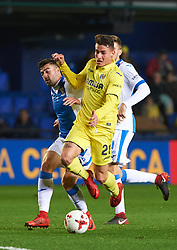 January 10, 2018 - Vila-Real, Castellon, Spain - Daniel Raba of Villarreal CF during the Spanish Copa del Rey, Round of 16, match between Villarreal CF and Club Deportivo Leganes at Estadio de la Ceramica on jenuary 10, 2018 in Vila-real, Spain. (Credit Image: © Maria Jose Segovia/NurPhoto via ZUMA Press)