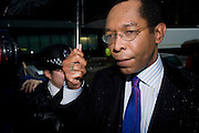 Picture by Mark Larner/Central News. Picture shows Lord Taylor of Warwick outside Southwark Crown Court. 17/01/2011..John Taylor, 58, a former Tory peer, faces six counts of false accounting relating to his expenses. Trial starts today..Taylor was later found guilty.