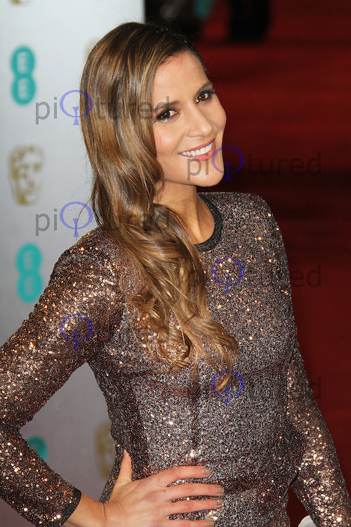 Amanda Byram, British Academy Film Awards BAFTA, Royal Opera House Covent Garden, London UK, 10 February 2013, (Photo by Richard Goldschmidt)