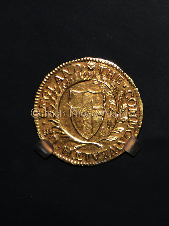 Medal of Sir James Harrington, 1653.  Sir James Harrington or Harington, 3rd Baronet of Ridlington (30 December 1607–1680) English Member of Parliament for Rutland (1646–53) and Middlesex (1654–55).As a major-general in the Parliamentarian army during the English Civil War, Harrington fought at the Battle of Cropredy Bridge.