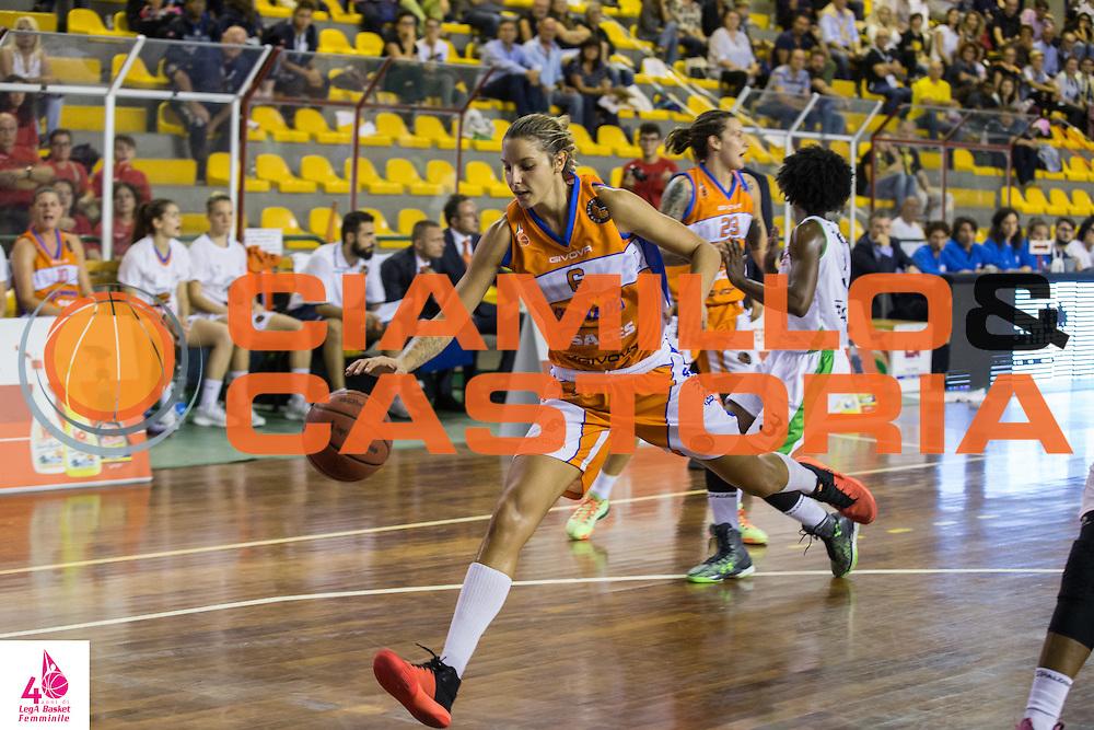 Sabrina Cinili<br /> OMC Cignoli Broni - Saces Mapei Givova Dike Napoli<br /> LegA Basket Femminile 2016/2017<br /> Lucca, 01/10/2016<br /> Foto Elio Castoria/Ciamillo-Castoria