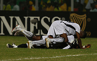 Photo: Steve Bond/Richard Lane Photography.<br /> Ghana v Morocco. Africa Cup of Nations. 28/01/2008. Ghana celebrate qualification
