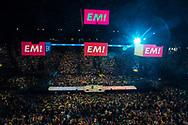 17042017. Paris. Meeting d'Emmanuel Macron à l'AccorHotels Arena.