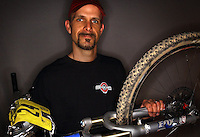 JEROME A. POLLOS/Press..Mike Gaertner, owner of Vertical Earth, logged in  280.8 miles in a 24-hour cycle-cross race held over Memorial Day weekend where he placed fourth in the solo competition.
