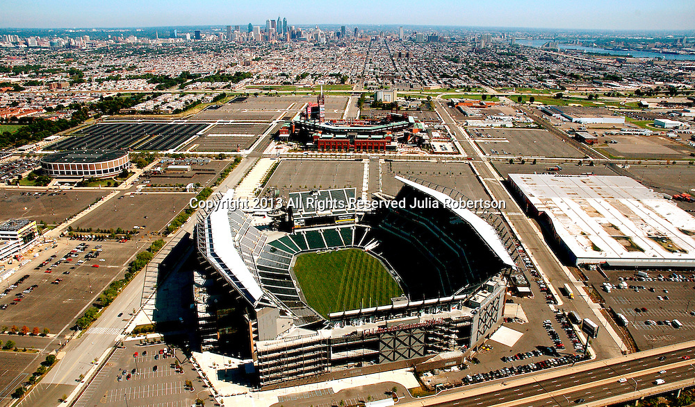 Aerial View Of Lincoln Financial Field Home Of The