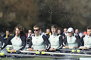 Putney, GREAT BRITAIN,  Pre Boat Race fixture, Cambridge University vs  Molesey Boat Club, 07/03/2008. [Mandatory Credit, Peter Spurrier/Intersport-images]..CAMBRIDGE UBC.C - Rebecca Dowbiggin, S - Shane O'Mara, 7 - Tom Edwards, 6 - Tom Ransley.5 - Peter Marsland, 4 - Tobias Garnett, 3 - Henry Pelly, 2 - Tim Perkins, B - Colin Scott...MOLESEY BC.C - Tori Sethard-Wright, S - Mark Webber, 7 - Graham Smith, 6 - Dave Gillard, 5 - Scott Rennie, 4 - Grant Biggar 3 - Jonny Searle, 2 - Phil Simmons, B - Bobby Thatcher. Varsity Boat Race, Rowing Course: River Thames, Championship course, Putney to Mortlake 4.25 Miles,