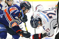 2018-09-22 | Växjö, Sweden: during the game between Växjö and Linköping at Vida Arena ( Photo by: Fredrik Sten | Swe Press Photo )<br /> <br /> Keywords: Ice hockey, Växjö, SHL, Växjö, Linköping, Vida Arena
