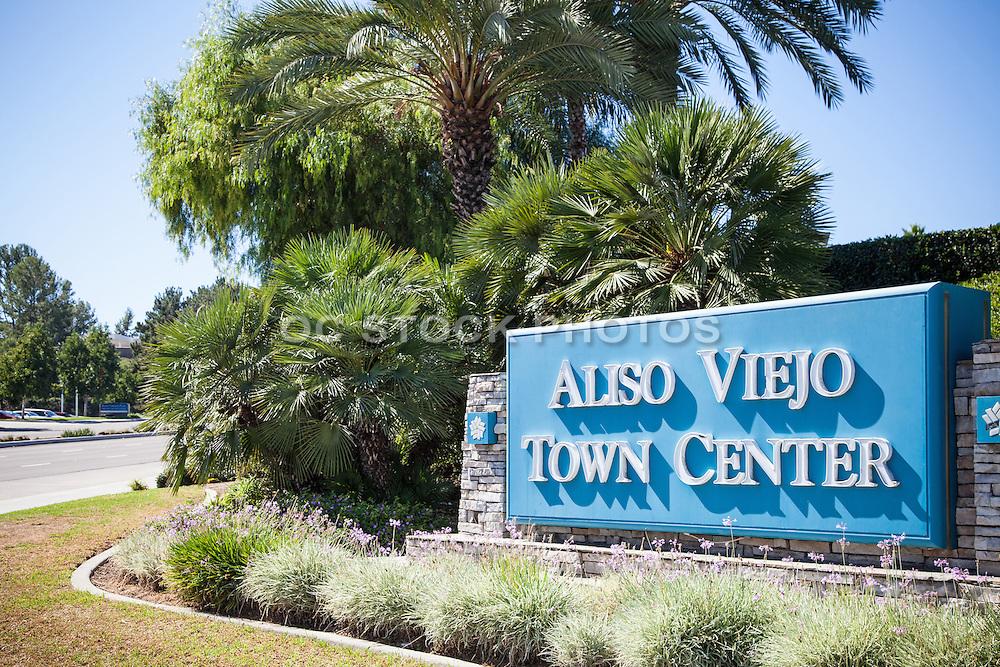 Aliso Viejo Town Center Monument