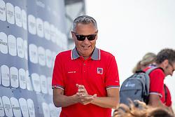 KISTLER Andy (Chef d´Equipe)<br /> Tryon - FEI World Equestrian Games™ 2018<br /> FEI World Individual Jumping Championship<br /> Third cometition - Round A<br /> 3. Qualifikation Einzelentscheidung 1. Runde<br /> 23. September 2018<br /> © www.sportfotos-lafrentz.de/Stefan Lafrentz