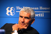 Pier Ferdinando Casini, member of Italian Parliament and leader of Union of Center Democrats Party, at Ambrosetti Workshop in Cernobbio, September 4, 2011. © Carlo Cerchioli
