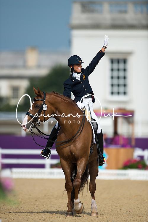 George Michele (BEL) - FBW Rainman <br /> Individual Freestyle - Grade IV<br /> London 2012 Paralympic Games<br /> &Acirc;&copy; Hippo Foto - Jon Stroud