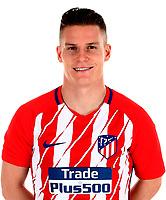 Spain - La Liga Santander 2017-2018 / <br /> ( Atletico de Madrid ) - <br /> Kevin Gameiro