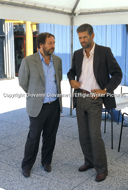 Giancarlo Cesana con Roberto Formigoni<br /> <br /> <br /> 17/07/2009<br /> Copyright Giovanni Giovannetti/Effigie/Writer Pictures<br /> NO ITALY, NO AGENCY SALES