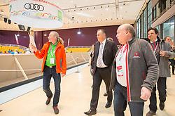 18.03.2017, Stadthalle Graz, Graz, AUT, Special Olympics 2017, im Bild Bundesminister für Landesverteidigung und Sport Hans Peter Doskozi, CEO Marc Angelini (OK-Team AUT) // Austrian Minister of Defence and Sport Hans Peter Doskozil, CEO Marc Angelini (OK-Team AUT) during the Special Olympics 2017 at the City Hall Graz, Austria on 2017/03/18, EXPA Pictures © 2017, PhotoCredit: EXPA/ Dominik Angerer