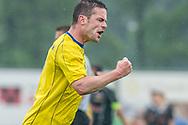 Voetbal Hoornaar Hoofdklasse B 2013-2014 SteDoCo - Staphorst: L-R Martijn Bakker van Staphorst