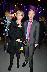 GEORDIE GREIG and his twin sister LAURA LONSDALE at A Night of Motown in aid of Save The Children UK held at The Roundhouse, Chalk Farm Road, London on 3rd March 2016.