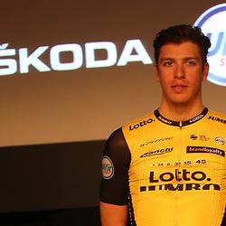 22-12-2017: Wielrennen: Presentatie Lotto Jumbo: Veghel <br />Danny van Poppel is naast Dylan Groenewegen de tweede sprinter in de ploeg