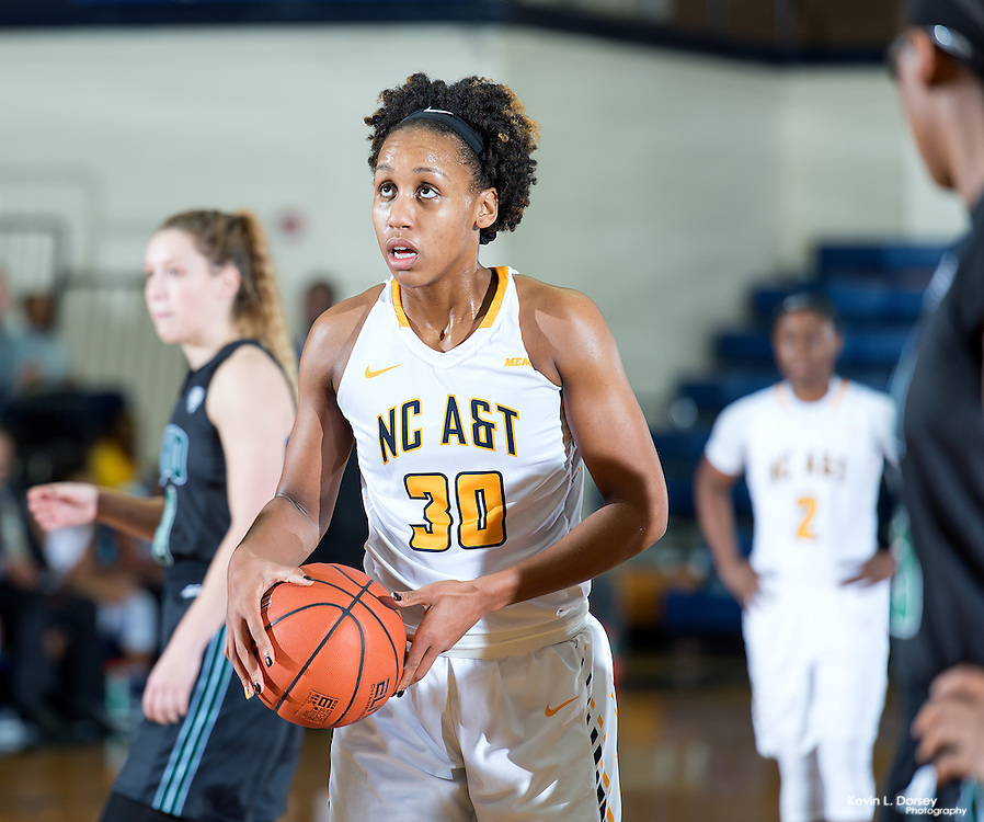 2016-17 A&T Women's Basketball vs Ohio