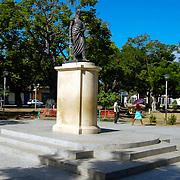 Plaza Bolivar de Guiria, Estado Sucre - Venezuela .Photography by Aaron Sosa.Venezuela 2007.(Copyright © Aaron Sosa)