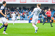 Leeds United forward Patrick Bamford (9) in action during the EFL Sky Bet Championship match between Millwall and Leeds United at The Den, London, England on 5 October 2019.