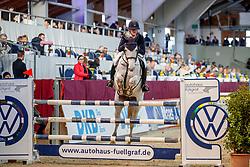 GAMMERSBACH Kira (GER), CURACAO<br /> Neustadt-Dosse - 20. CSI Neustadt-Dosse 2020<br /> Preis der R+V Versicherungsagentur A. Kuschel<br /> Gold Amateurs<br /> Int. Zwei-Phasen-Springprüfung<br /> 11. Januar 2020<br /> © www.sportfotos-lafrentz.de/Stefan Lafrentz