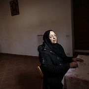 A Tunisian mother who has lost her son is visiting Mounira and the Caravan Migrante in Rome. A meeting with the President of the Human Rights Commission, Luigi Manconil, is taking place at the Senate, in Rome