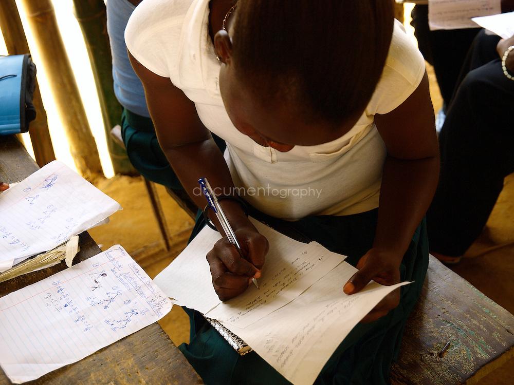 Pupils at J.S. Varfley School, Kingsville #7, Liberia.