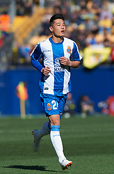 February 3, 2019 - Vila-Real, Castellon, Spain - Wu Lei of RCD Espanyol during the La Liga match between Villarreal and Espanyol at Estadio de la Ceramica on February 3, 2019 in Vila-real, Spain. (Credit Image: © AFP7 via ZUMA Wire)