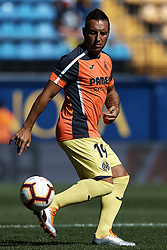 September 30, 2018 - Villarreal, Castellon, Spain - Santi Cazorla of Villarreal CF in action prior to the La Liga match between Villarreal CF and Real Valladolid at Estadio de la Ceramica on September 30, 2018 in Vila-real, Spain  (Credit Image: © David Aliaga/NurPhoto/ZUMA Press)