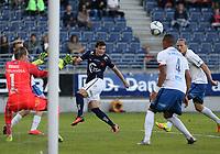 Fotball , 17. september 2016 , Eliteserien , Tippeligaen , Viking - Molde<br />Tor Skimmeland Aasheim  fra Viking i aksjon mot Molde.<br />Foto: Andrew Halseid Budd , Digitalsport