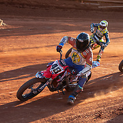 Thunder on the Mountain, the first ever flat track motorcycle race to be held at the Travelers Rest Speedway.