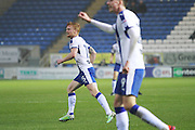 Chesterfield FC midfielder Liam O'Neil (15) turns away after putting them ahead during the EFL Sky Bet League 1 match between Peterborough United and Chesterfield at London Road, Peterborough, England on 10 December 2016. Photo by Nigel Cole.