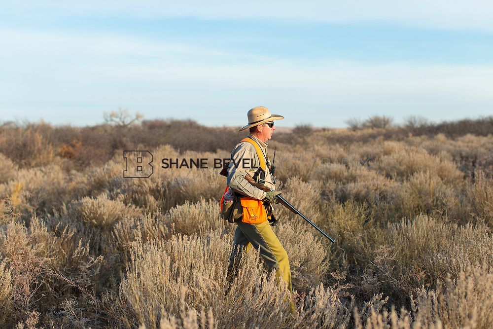 12/8/12 9:57:20 AM -- Quail hunting on the Cimarron Hills WMA in western Oklahoma. <br /> <br /> Photo by Shane Bevel
