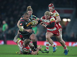 December 27, 2016 - London, England, United Kingdom - Harlequins Kyle Sinckler during Aviva Premiership Rugby match between Harlequins and Gloucester Rugby at The Twickenham Stadium, London on 27 Dec 2016  (Credit Image: © Kieran Galvin/NurPhoto via ZUMA Press)
