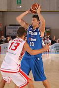 DESCRIZIONE : Bormio Torneo Internazionale Gianatti Italia Austria <br /> GIOCATORE : Andrea Bargnani <br /> SQUADRA : Nazionale Italiana Uomini <br /> EVENTO : Bormio Torneo Internazionale Gianatti <br /> GARA : Italia Austria <br /> DATA : 31/07/2007 <br /> CATEGORIA : Passaggio <br /> SPORT : Pallacanestro <br /> AUTORE : Agenzia Ciamillo-Castoria/S.Silvestri